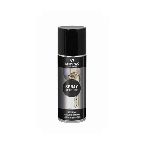 Spray serrure 200 ml - SOPPEC