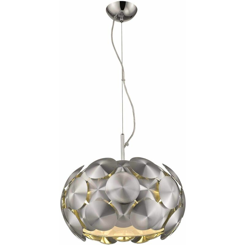 Image of Chrome suspension CHESTER 5 lights