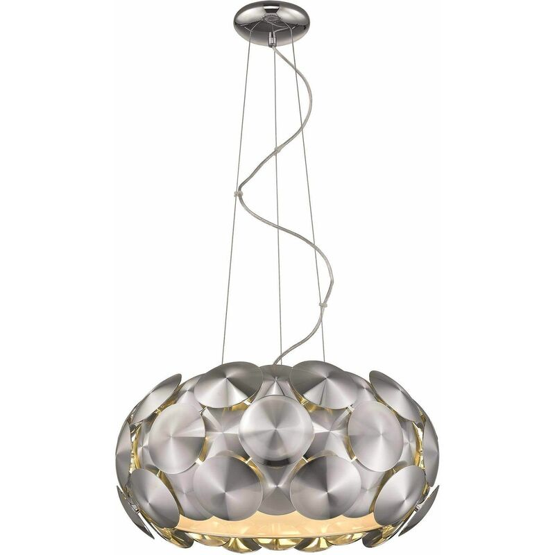 Image of Chrome suspension CHESTER 6 lights