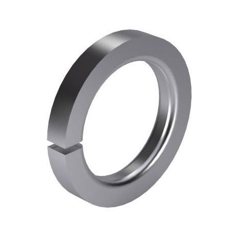 Spring lock washer with square ends for cheese head screws DIN 7980 Stainless spring steel A2 (1.4310)