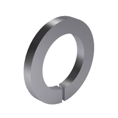 Spring lock washer with tang ends DIN 127 A Spring steel Zinc plated