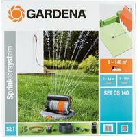 Sprinklersystem Set mit Viereckregner OS140 4078500822206 Inhalt: 1