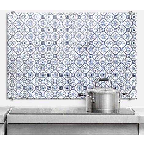 Spritzschutz Glasbild Kacheln Küchenrückwand