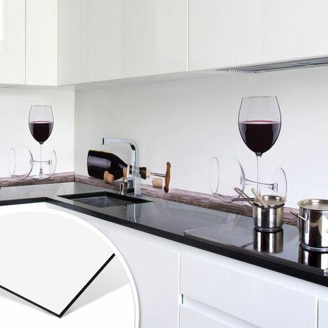 Spritzschutz Küche Wein Glasbild 3D Küchenrückwand
