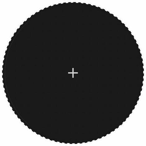 Sprungtuch Schwarz für 4,57 m/15 Fuß Runde Trampoline