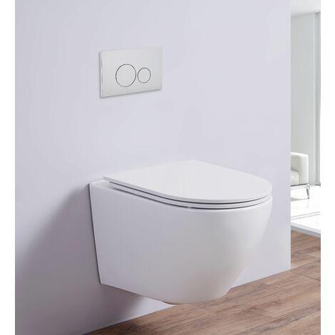 Spülrandloses Wand-WC inkl. Soft-Close (matt)