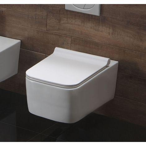 Spülrandloses Wand-WC inkl. Soft-Close Sitz WHR-446141
