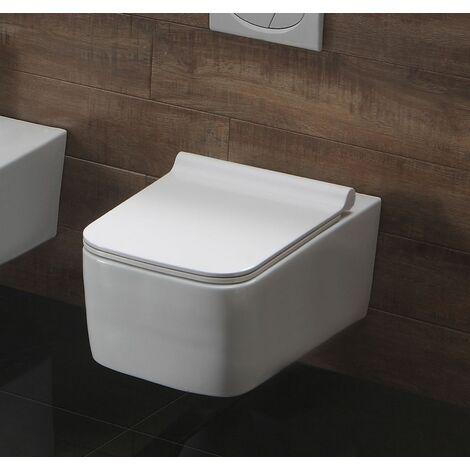 Spülrandloses Wand-WC inkl. Soft-Close Sitz WHR-586141