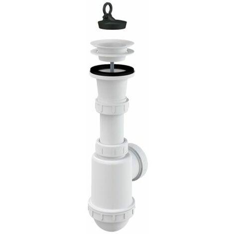 Spültisch Flaschen Siphon Kunstoff Gitter DN 70 Universal DN40/50 Ablaufgarnitur Ablauf Spülbecken Spüle
