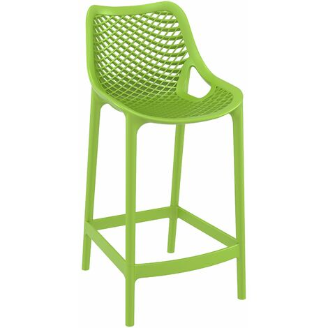 Spyro Mid Height Bar Stool 65 - Tropical Green