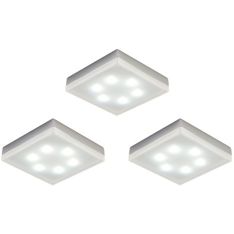 Square 1 5w Under Cabinet Lighting Kit