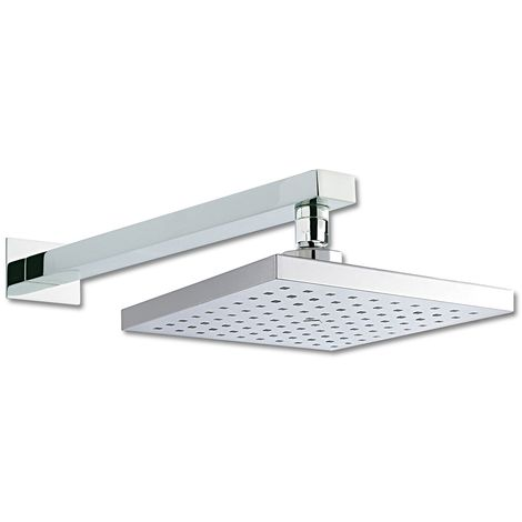 Square 200mm Shower Head And Arm