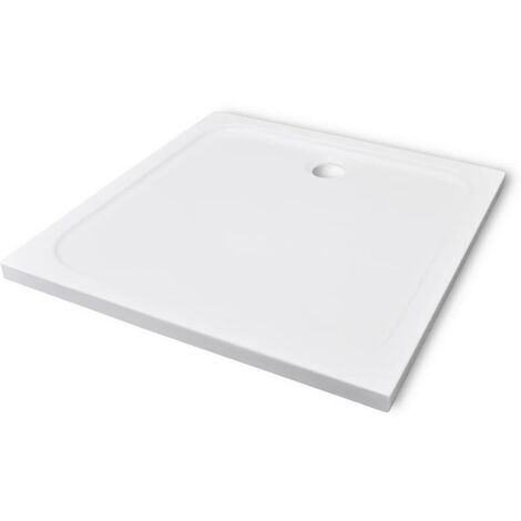 Square ABS Shower Base Tray 90 x 90 cm