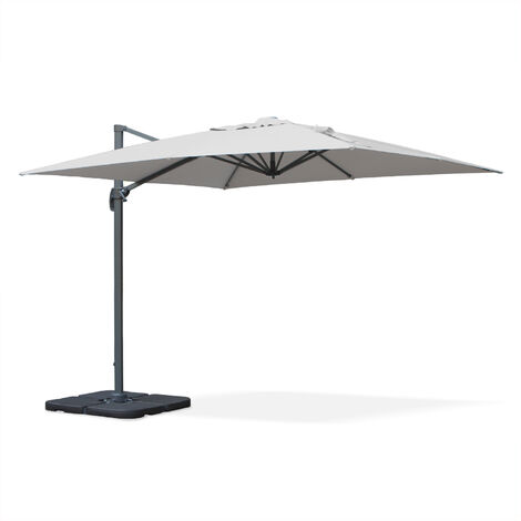 Square cantilever parasol - 3x3m - Falgos