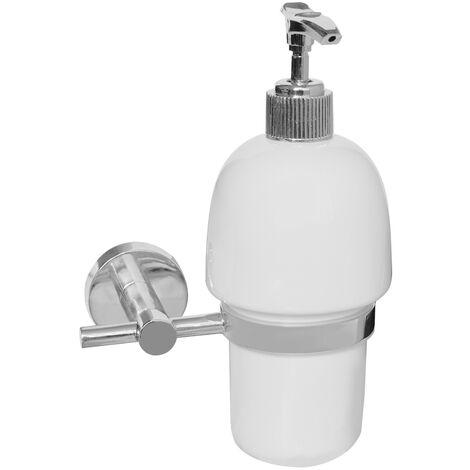 Square Ceramic Soap Dispenser