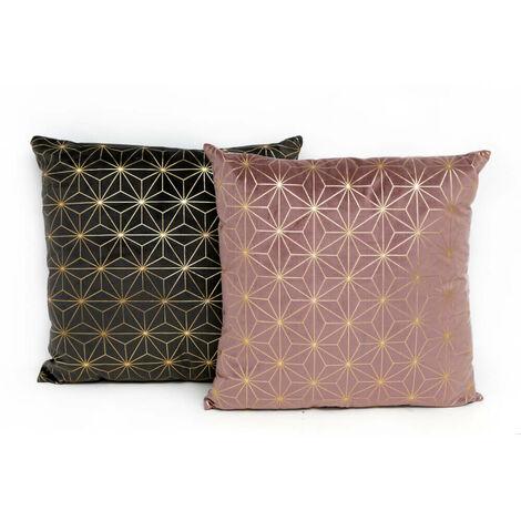 Square Geometric Cushion