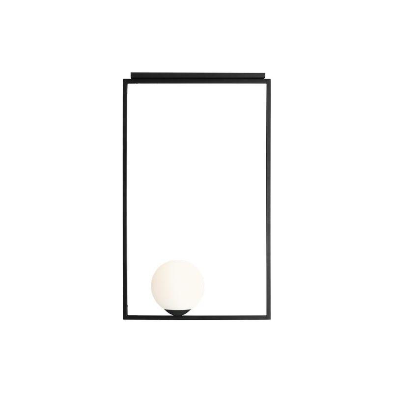 Homemania - Square Haengelampe - Kronleuchter - Deckenkronleuchter - Schwarz aus Metall, 52 x 20 x 92 cm, 1 x E27, 60W