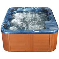 Square Hot Tub Blue SANREMO