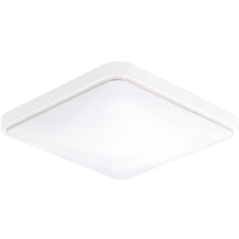 """main image of """"Square L-ED Ceiling Lamp AC220-V White Color Kitchen Balcony Porch Modern Panel Light Fixture"""""""