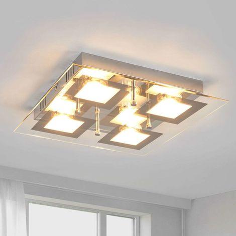 Square LED kitchen lamp Manja