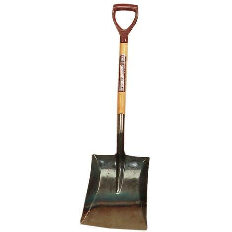 Square Mouth Shovels - Plastic Handle