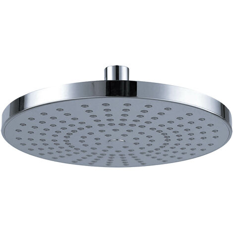 """Square Round Large Shower Head 8\"""" ABS Plastic Rainfall Overhead 20x20cm"""