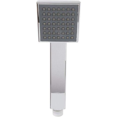 """main image of """"Square Shower Head Large Diameter Exquisite Diameter Simple High-end Silver High Pressure Water-saving Durable Bathroom Spray"""""""