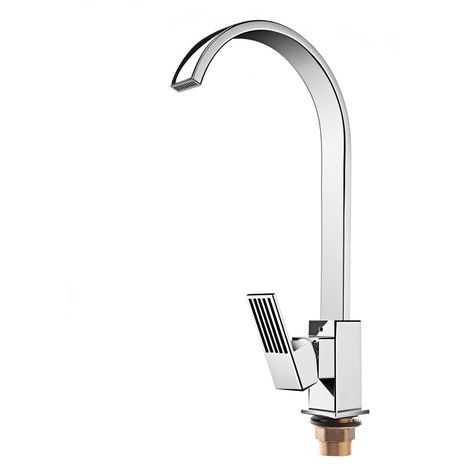 Square Sink Mixer Taps Mixer Tap Whirlpool Kitchen Brass