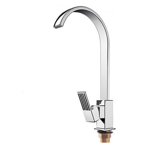 Square Sink Mixer Taps Mixer Tap Whirlpool Kitchen Brass Hasaki