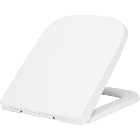 Square Soft Close Quick Release Toilet Seat