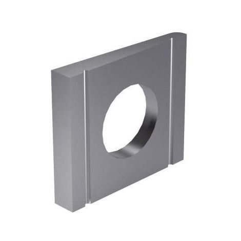 Square taper washer 8% for U-sections DIN 434 Steel Plain 100 HV
