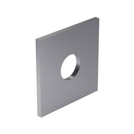 Square washer especially for wood constructions DIN 436 Steel Hot dip galvanized 100 HV