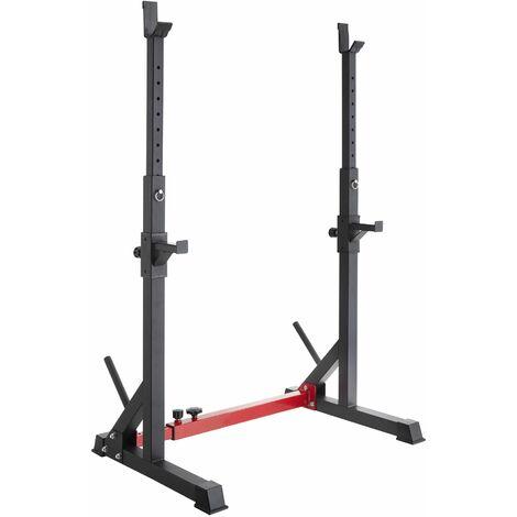 Squat rack Ivan - squat and bench rack, half racks, gym rack - black