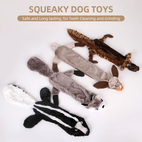 Squeaky Dog Toys Aggressive Chewers Dog Plush Toys for Small Medium Large Dog Pets