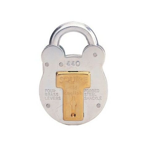 Squire 440/KA PEF3 Old English Padlock with Steel Case 51mm Keyed