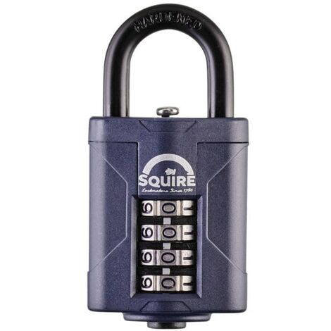 Squire CP40 40mm RECODEABLE COMBINATION PADLOCK