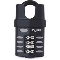 Squire CP40 Closed Shackle Heavy Duty Combination Padlock - size - color
