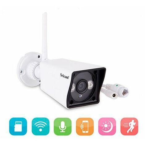 Sricam - Caméra wifi extérieure / intérieure 1080 P