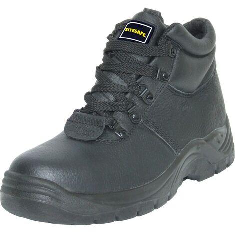 SSF01 Men's Black S1P Safety Boots