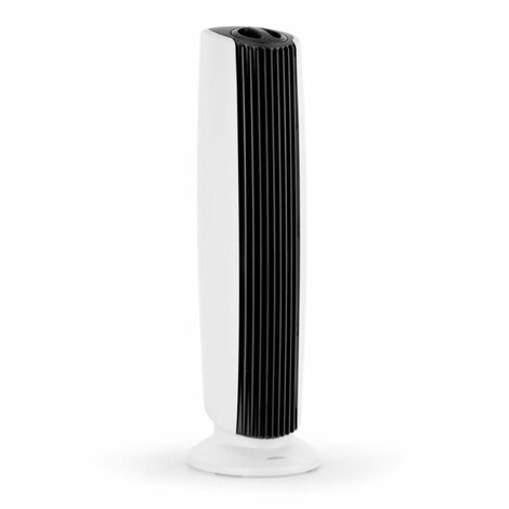 """main image of """"St. Oberholz XL 3-in-1 Air Purifier Ioniser Ozone 18"""" Black / White"""""""