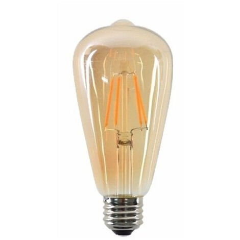 """main image of """"ST64 E27 4W Dimmable Vintage LED Retro Classic Filament Bulbs"""""""