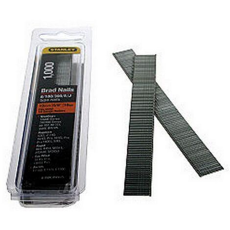 STA0SWKBN050 - Stanley 0SWKBN050 Brad Nails 12mm 18 Gauge Pack-1000