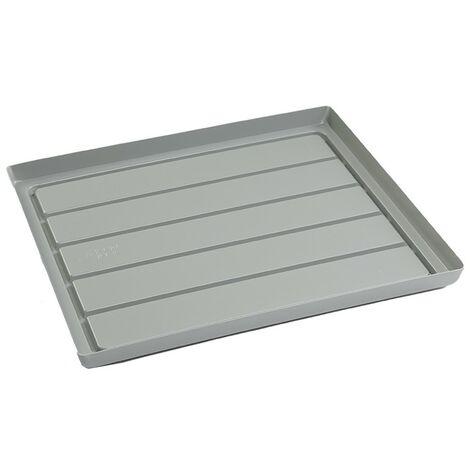 Staal Plast - table de récupération grise - 55,5x63cm