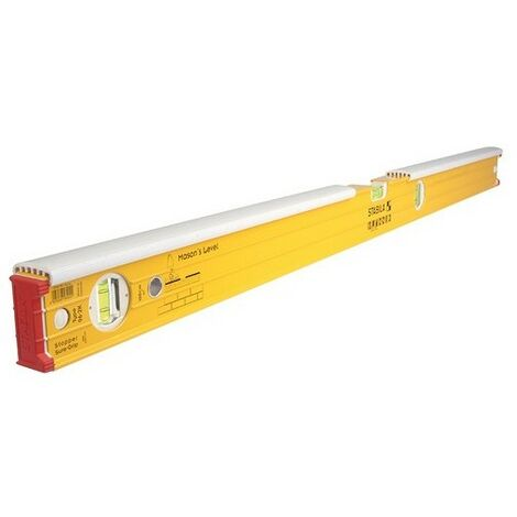 Stabila 16403 96-2-K Double Plumb Masons Spirit Level 3 Vial 80cm