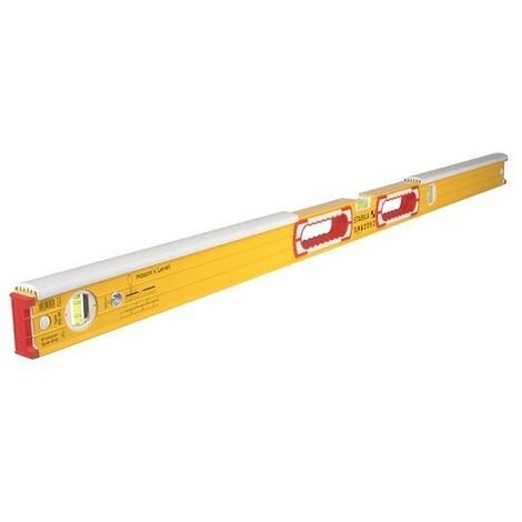 Stabila 16406 196-2-K Masons Spirit Level 3 Vial 122cm