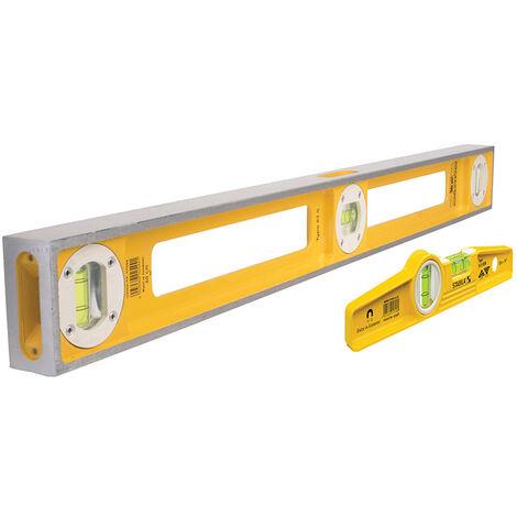 Stabila 17504 83 S Level Pack 100cm + 81 S REM