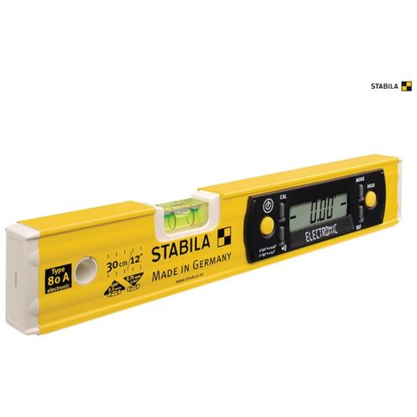 Stabila 80A-E-30cm Electronic Level 17323