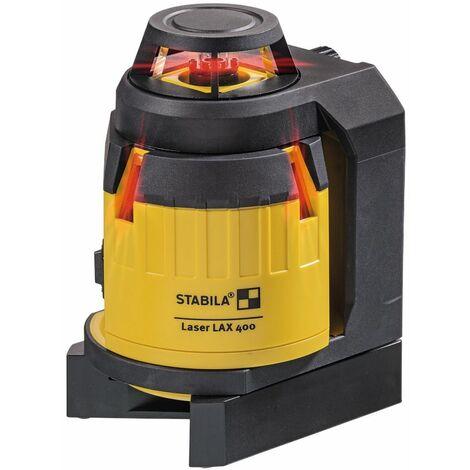 Stabila Laser multiligne LAX 400, set de 5 pièces - 18702