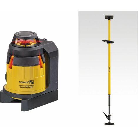 Stabila Laser multiligne LAX 400, set de 6 pièces - 18863