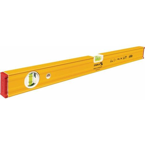STABILA Livella 80 AS 120cm giallo alluminio ± 0,5 mm/m STABILA